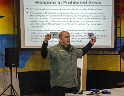 TSI - Illinois Concealed Carry Class